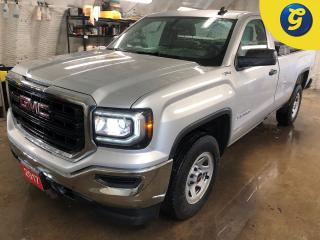 Used 2017 GMC Sierra 1500 RegCab * 4X4 * 8 Foot Box * Bed liner * Lockable tool box * Trifecta tonneau cover * Tow hitch w/ 6 pin connect * Tow hooks * Vinyl flooring * Tow/Hau for sale in Cambridge, ON
