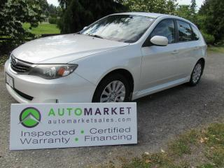 Used 2008 Subaru Impreza AWD, AUTO, INSP, BCAA MBSHP, WARRANTY, FINANCING for sale in Surrey, BC