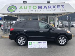 Used 2007 Hyundai Santa Fe SE AWD WE FINANCE EVERYONE! for sale in Langley, BC