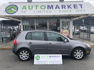 Used 2008 Volkswagen Rabbit WE CAN FINANCE ANYONE ON THIS CAR! for sale in Langley, BC