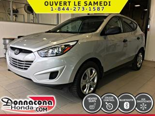 Used 2014 Hyundai Tucson GL *CRUISE, AIR, BLUETOOTH* for sale in Donnacona, QC