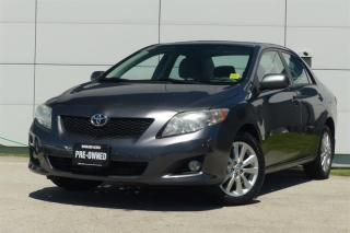 Used 2009 Toyota Corolla 4-door Sedan LE 4A for sale in Vancouver, BC