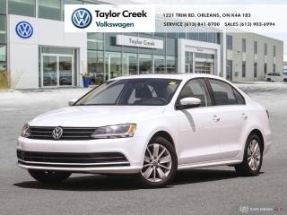 Used 2015 Volkswagen Jetta Trendline plus 2.0 5sp for sale in Orleans, ON