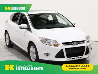 Used 2012 Ford Focus SEL GR ELECT CUIR for sale in St-Léonard, QC
