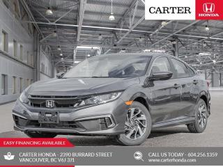 New 2019 Honda Civic EX for sale in Vancouver, BC