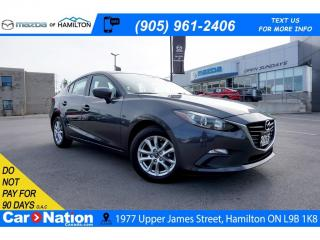 Used 2015 Mazda MAZDA3 GS | HEATED SEATS | REAR CAM | BLUETOOTH for sale in Hamilton, ON