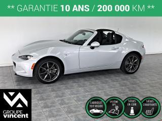 Used 2018 Mazda Miata MX-5 GT-RF TOIT DUR GPS CUIR ** GARANTIE 10ANS ** Comme neuf! for sale in Shawinigan, QC