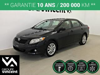 Used 2010 Toyota Corolla Le Gar for sale in Shawinigan, QC