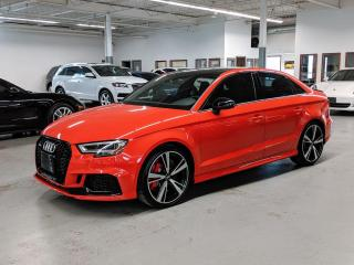 Used 2018 Audi RS 3 Sedan 2.5 TFSI quattro S tronic for sale in Toronto, ON