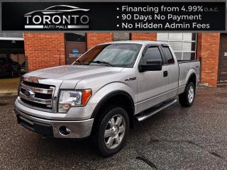 Used 2014 Ford F-150 4WD Super cab Camera 5.0 L v8 Engine Long box for sale in North York, ON