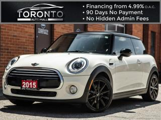 Used 2015 MINI Cooper Hardtop Sport pkg Leather Pano roof Navi Harman Kardon Xen for sale in North York, ON