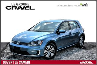 Used 2016 Volkswagen Golf e-Golf E-GOLF - CAMERA - MAGS - CHARGE RAPIDE - for sale in Ile-des-Soeurs, QC