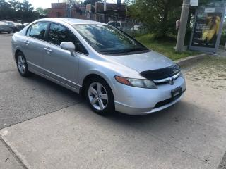 Used 2007 Honda Civic LX,AUTO,ALLOYS,SAFETY+3YEARS WARRANTY INCLUDED for sale in Toronto, ON