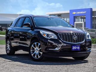 Used 2016 Buick Enclave Black for sale in Markham, ON