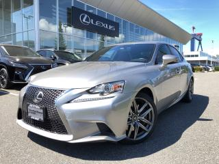 Used 2016 Lexus IS 300 AWD F Sport 2, Local, Well Equipped for sale in North Vancouver, BC
