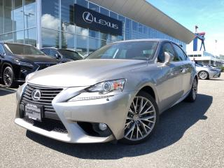 Used 2014 Lexus IS 250 AWD 6A Premium PKG, Local, Excellent Condition for sale in North Vancouver, BC