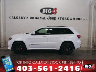 Used 2017 Jeep Grand Cherokee SRT | 6.4L HEMI V8 | Laguna Leather | Tow Pkg for sale in Calgary, AB