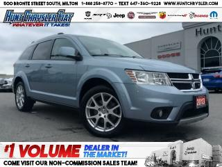 Used 2013 Dodge Journey CREW | SUN | BT | CAM | HTD STS & MORE!!! for sale in Milton, ON