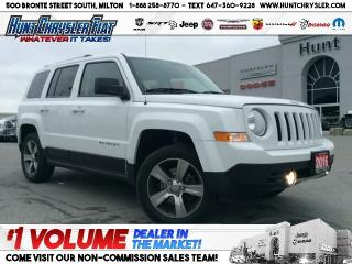 Used 2016 Jeep Patriot HIGH ALTITUDE | 4X4 | NAV | SUN | LEATHER!!! for sale in Milton, ON