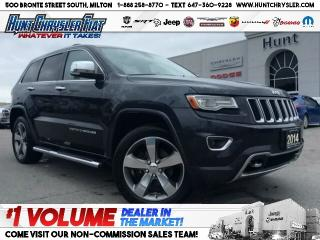 Used 2014 Jeep Grand Cherokee OVERLAND | NAV | PANO | LOADED!!! for sale in Milton, ON