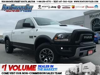 Used 2016 RAM 1500 REBEL | HEMI | AIR RIDE | CAM | SPRAY & MORE!!! for sale in Milton, ON