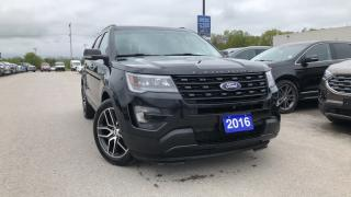 Used 2016 Ford Explorer Sport 3.5l Eco Leather Navigation for sale in Midland, ON