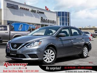 Used 2018 Nissan Sentra 1.8 S - Back up Cam, Media Screen, Blue tooth for sale in Etobicoke, ON