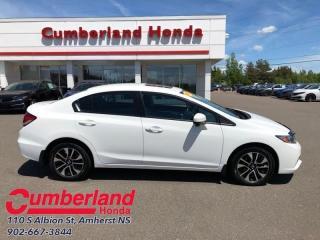 Used 2015 Honda Civic Sedan EX  - Bluetooth -  Heated Seats for sale in Amherst, NS