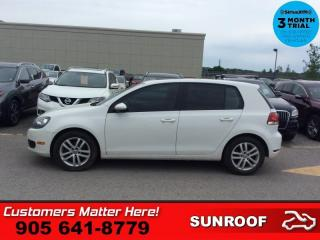Used 2010 Volkswagen Golf Trendline  SUNROOF HTD STS MANUAL for sale in St. Catharines, ON