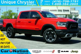 Used 2019 RAM 1500 REBEL| 3.92 AXLE| OFF-ROAD GRP| REAR CAM & MORE for sale in Burlington, ON
