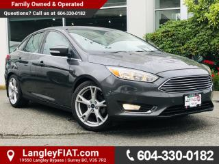 Used 2015 Ford Focus Titanium NO ACCIDENTS, B.C OWNED for sale in Surrey, BC