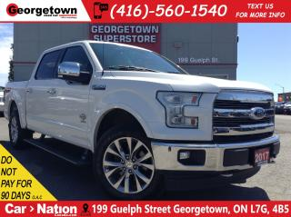 Used 2017 Ford F-150 King Ranch | LEATHER | NAVI | PANO ROOF | RARE for sale in Georgetown, ON