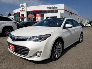 Used 2013 Toyota Avalon Limited touch screen | alloy wheels | back up camera for sale in Etobicoke, ON