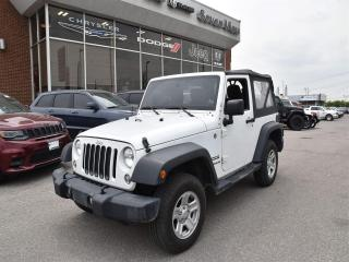 Used 2014 Jeep Wrangler Sport AUTOMATIC/AIR CONDITIONING for sale in Concord, ON