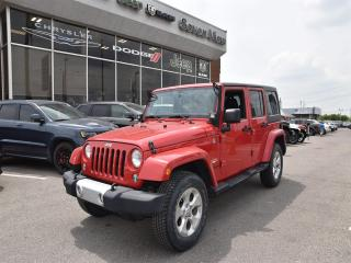 Used 2014 Jeep Wrangler Unlimited Sahara NAVI/UCONNECT/6 SPEED for sale in Concord, ON