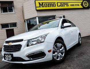 Used 2015 Chevrolet Cruze 1LT! Clean carproof! Fuel Economy! for sale in St. Catharines, ON