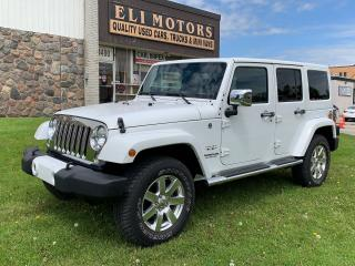 Used 2016 Jeep Wrangler Sahara Unlimited | 4x4 | Navigation | Bluetooth | for sale in North York, ON