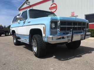 Used 1978 GMC Jimmy HIGH SIERRA for sale in Tillsonburg, ON
