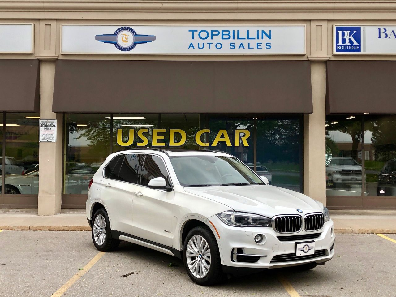 2014 BMW X5 xDrive50i, 2 Years Warranty