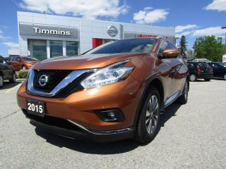 Used 2015 Nissan Murano SL for sale in Timmins, ON