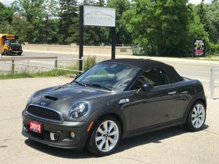 Used 2012 MINI Cooper Roadster S | Low Mileage | No Accident for sale in Cambridge, ON