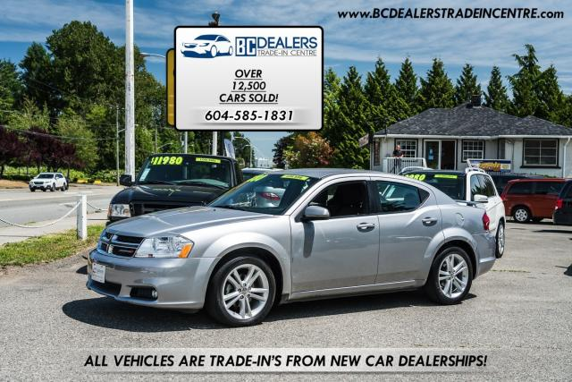 2013 Dodge Avenger SXT, Only 68,000 kms, Local, No Accidents!