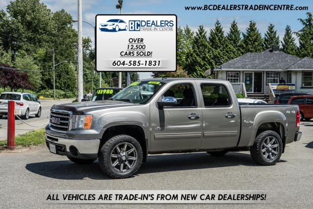 2012 GMC Sierra 1500 4x4 SLE Kodiak Edition, 5.3L V8, Crew Cab, Wheels!