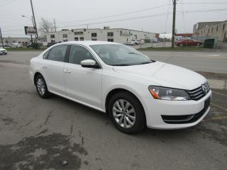 Used 2014 Volkswagen Passat Trendline for sale in Brampton, ON