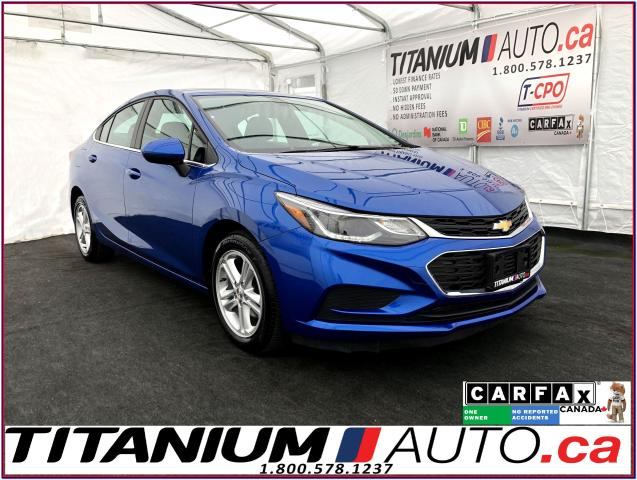 2016 Chevrolet Cruze LT+Camera+Heated Power Seats+Remote Start+Apple Pl