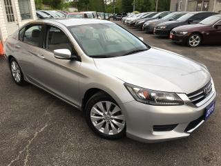 Used 2015 Honda Accord LX/ AUTO/ BLUETOOTH/ PWR GROUP/ ALLOYS/ LIKE NEW! for sale in Scarborough, ON