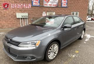 Used 2013 Volkswagen Jetta TDI/DIESEL/NO ACCIDENT/CERTIFIED for sale in Cambridge, ON