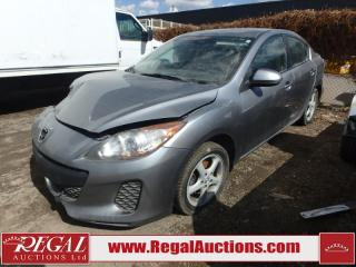 Used 2012 Mazda MAZDA3 GX 4D Sedan AT W/AC 2.0L for sale in Calgary, AB