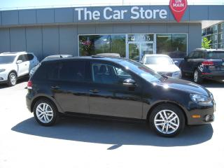 Used 2011 Volkswagen Golf DSG TDI Highline LEATHER SUNROOF HTD SEAT NAVI for sale in Winnipeg, MB