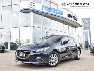Used 2015 Mazda MAZDA3 Sport GS|ONE OWNER|1.9% FINANCE AVAILABLE|NO ACCIDENTS for sale in Mississauga, ON